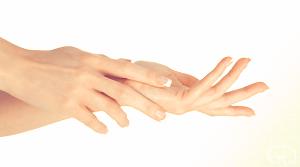 Behandeling van de handen